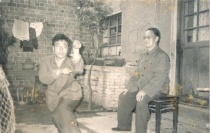 my teacher, Zhou Zhen Dong, with his teacher, Zhang Kai Tang