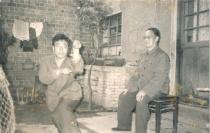 my teacher, Zhou Zhen Dong, with his teacher, Zhang Kai Tang