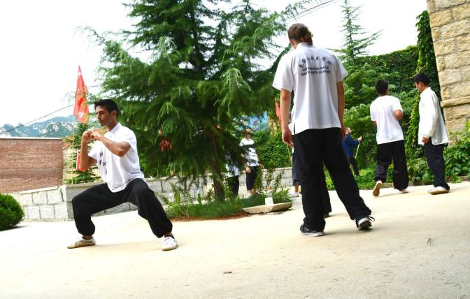 Training At Kunyu Mountain Shaolin Kung Fu School